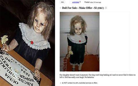 AAA Vendesi bambola posseduta