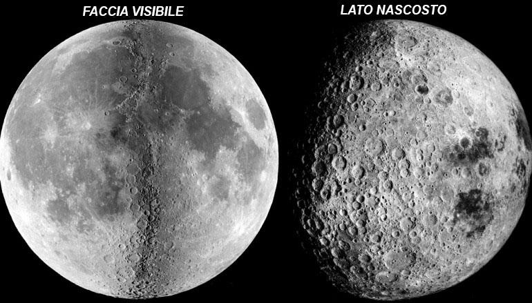 Risultati immagini per lato nascosto della luna